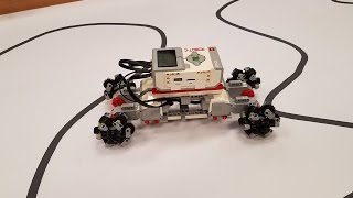 The RoboVikes have created omnidirectional wheels! A quick preview of some sideways motion...