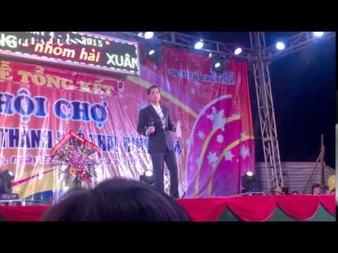 Quang Lê, Ngọc Sơn tại hội chợ tỉnh Thái Bình ngày 04/01/2015