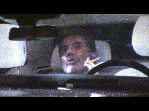Simon Cowell Smokes Like A Chimney In His $535K Rolls Royce Phantom Extended
