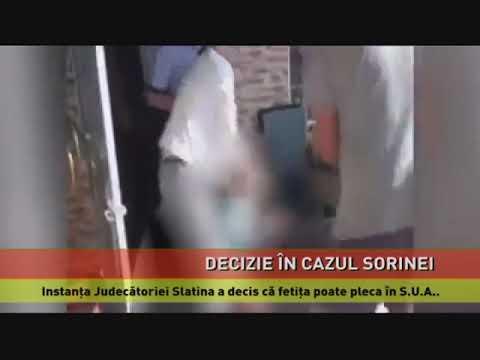 Instanța Judecătoriei Slatina a decis că Sorina poate pleca ÎN S.U.A.
