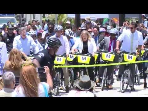 자전거 공유, 미래 교통 대안으로  7.7.16 KBS America News