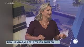 Prefeita reeleita de Pompeia fala dos projetos para próximo mandato