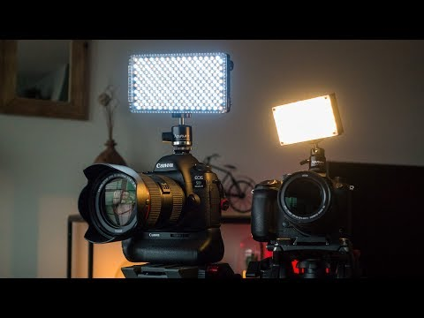 CAMERA LIGHT REVIEW! New Aputure LEDs Amaran MX & F7