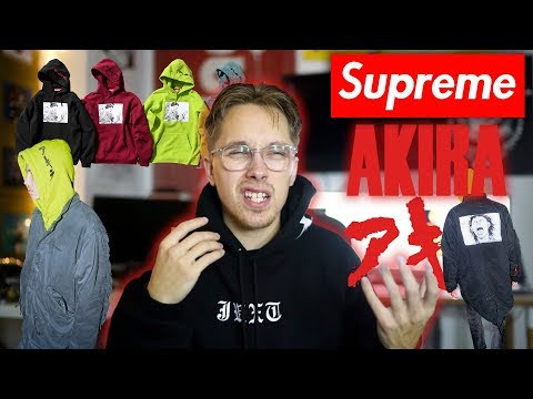 MY OPINIONS ON THE SUPREME X AKIRA COLLECTION