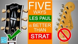 Video 5 Reasons Gibson Les Pauls Are Better Than Fender Stratocasters MP3, 3GP, MP4, WEBM, AVI, FLV Juli 2018