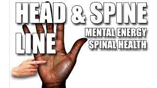 """Please watch: """"CHILDREN & MARRIAGE LINES Male Palm Reading Palmistry #146"""" https://www.youtube.com/watch?v=AOY4nZmF8wA-~-~~-~~~-~~-~-The Head & Spine Line reflects how you use your Mental Energy, your Intelligence. It also mirrors your Spinal Health, which affects your Total General Health.GET A HAND/PALM READING: https://goo.gl/NzTwnESUBSCRIBE: http://goo.gl/HkaCq6     WEBSITE: http://goo.gl/mE7gmILEARN TO READ PALMS: https://goo.gl/73kxLxLines, configurations and markings are explained in this new series. Revealed through Hand & Palm Readings & Analysis - Palmistry.HEAD & SPINE LINEKat Anders has a Masters Degree in the Health Sciences, a Bachelors Degree in music and has preformed over 6000 hand readings for well over 35 years.Video produced by BLACK STONE ENTERTAINMENT. Copyright. All Rights Reserved"""
