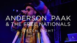 Anderson .Paak & The Free Nationals: 'Green Light' SXSW 2016 | NPR MUSIC FRONT ROW