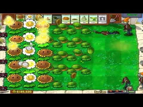 Plants Vs. Zombies - Big Time (Hidden Mini-Game)