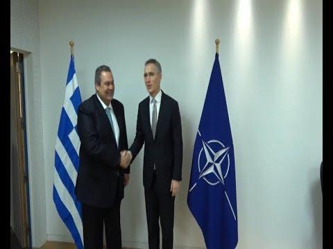 Για τις τουρκικές προκλήσεις ενημέρωσε ο Π. Καμμενος τον γγ του ΝΑΤΟ και τον Αμερικανό υπ. Άμυνας