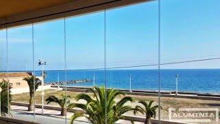 Cortinas de cristal en Moncófar / Frameless glass doors in Moncófar