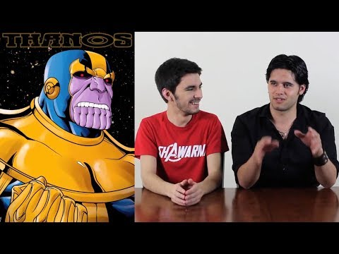 Who Is THANOS? (AKA 'Purple Smiling Guy')