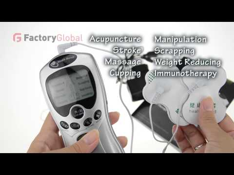 MB-H4799 Acupuncture Body Massager Digital Therapy Machine slim massager with AC Power