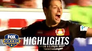 Chicharito scores dramatic stoppage-time winner | 2016-17 Bundesliga Highlights by FOX Soccer