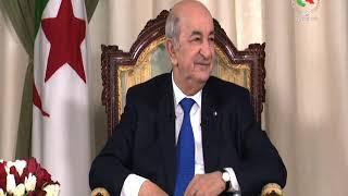 Entrevue du Président de la République accordée aux médias nationaux