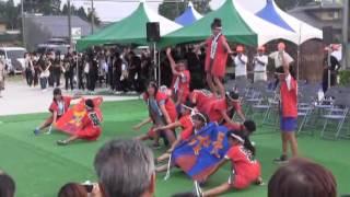 羽黒H28夏祭り1・羽黒小学校ダンス