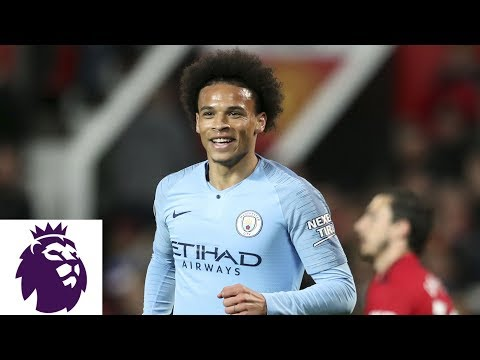 Man City's Leroy Sane Scores On Powerful Strike To Make It 2-0 V. Man United | NBC Sports