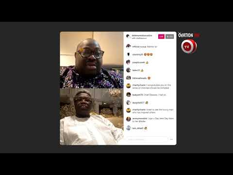 Dele Momodu - Instagram live with Real Estate Billionair, Sir Olu Okeowo