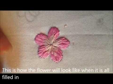 Vietnamese Embroidery: Flower