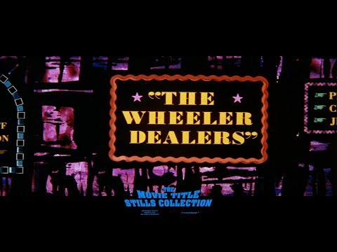 The Wheeler Dealers (1963) title sequence