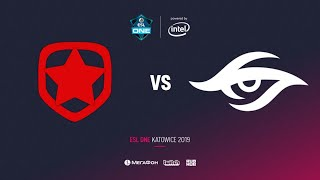 Gambit vs Team Secret, ESL One Katowice 2019, bo5, game 2, [Leх & Inmate]