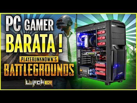 PC GAMER BARATA PARA JUGAR PUBG | Buen rendimiento en PLAYERUNKNOWN'S BATTLEGROUNDS