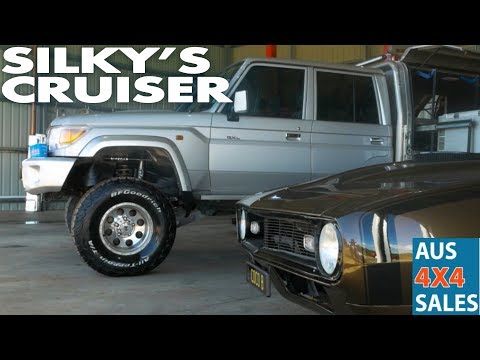 Silky's Cruiser -105 Series Coil 5 Link Rear, Chromoly Axels - Comprods Fox Remote Res Shocks (видео)