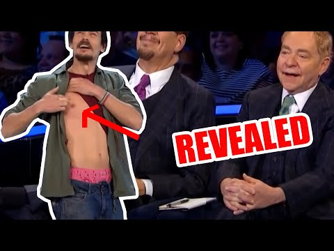 Trick REVEALED - Penn and Teller Fooled by Mario Lopez Magic Nipple