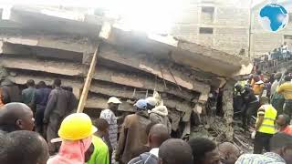 Scores feared trapped after building collapses in Embakasi