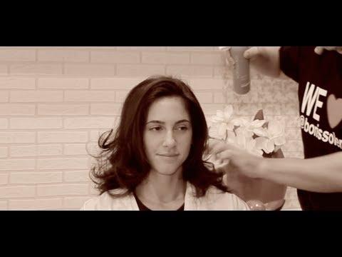 Como usar el secador para dar volumen al pelo