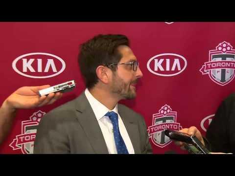 Video: Toronto FC Training Camp: Tim Bezbatchenko - January 26, 2015 Part 3