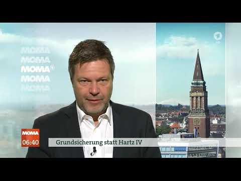 Grünen-Chef Habeck schlägt Grundsicherung statt Hartz IV vor