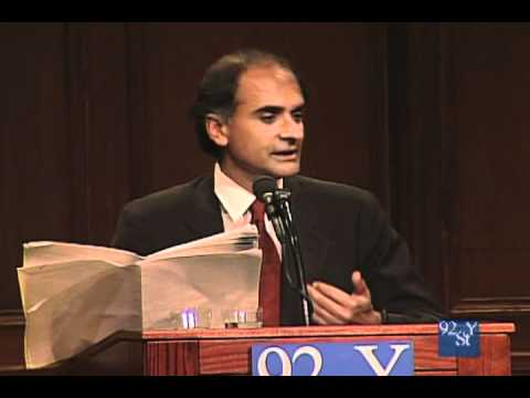 Pico Iyer speaks at the 92nd Street Y in New York