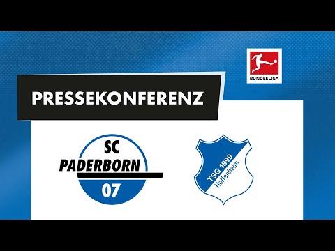 SC Paderborn 07 x TSG Hoffenheim (1. Bundesliga 20...