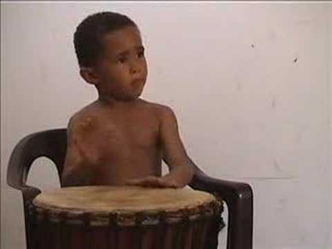 4 Year Old Plays Djembe Again…