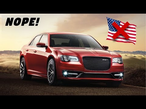 2018 Chrysler 300 Srt – Why America Doesn't Get This Model