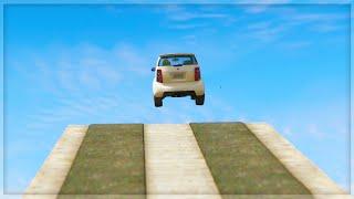 GTA 5 Funny Moments - 'HUUUUGE FALL!' (GTA 5 Online Funny Moments)