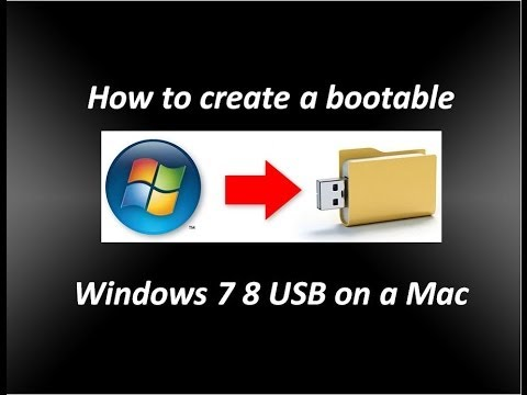 how to create a windows 7 boot usb