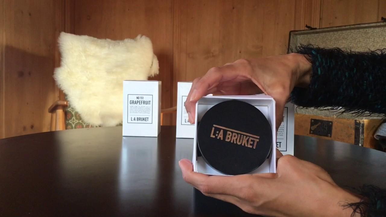 Duftkerzen Unboxing LA Bruket Scented Candle