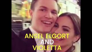 Video Ansel Elgort is still with his HS girlfriend, Violetta Komyshan MP3, 3GP, MP4, WEBM, AVI, FLV Januari 2018