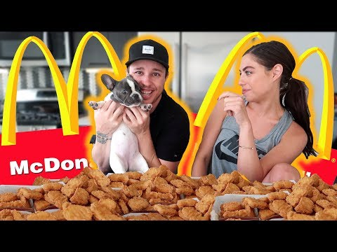 CAN WE EAT 100 CHICKEN NUGGETS?  (WE GOT SICK)
