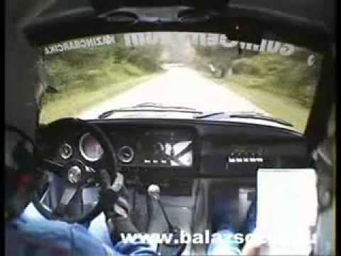 Balázs Öcsi Lada 21074 - crash