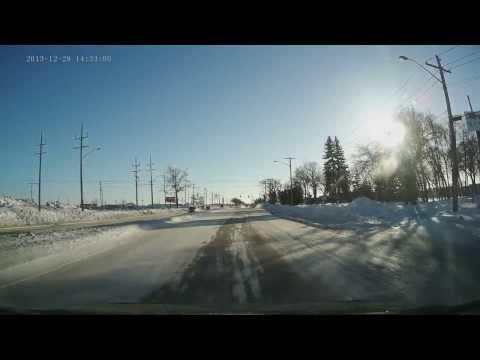 Idiot Drivers of Winnipeg.  December 2013
