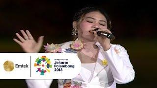 Download Video Via Vallen - Meraih Bintang | Opening Ceremony Asian Games 2018 MP3 3GP MP4