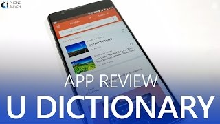 U Dictionary App Review - Best Offline Dictionary App with meanings from English to 10 Indian Languages including Hindi, Kannada, Gujrati and more. With the new update you also get Picture Dictionary and Phrases.Download U Dictionary (Google Play):https://goo.gl/LMe8oyLike U Dictionary on Facebook:https://www.facebook.com/UDictionary/Subscribe on YouTube, to get videos first:http://www.youtube.com/subscription_center?add_user=PhoneBunchFollow PhoneBunch:http://www.phonebunch.comhttp://www.facebook.com/phonebunchhttp://www.twitter.com/phonebunchFollow Abhinav Pathak (Editor):https://www.facebook.com/Abhi.IKnowIThttp://www.twitter.com/exolete