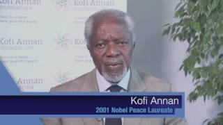 FAO-Nobel Peace Laureates Alliance - Kofi Annan