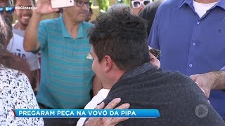 Rodrigo Faro faz surpresa para Vó da Pipa