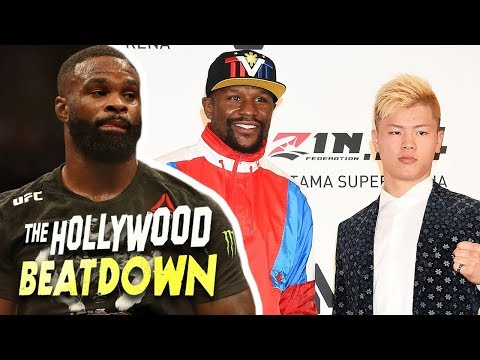 Tyron Woodley Believes Mayweather Was Misled By MMA Fight   The Hollywood Beatdown