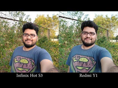 Infinix Hot S3 vs Redmi Y1 Camera Comparison