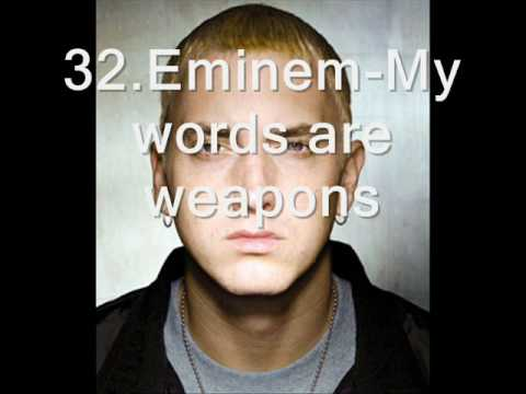 Rap Music - 26.Eminem & 2pac-Murder murder 27.Biggie-Hypnotize 28.Jay-z-Heart of the city 29.2pac-Lord knows 30.Eminem-My name is 31.Jay-z-Cant knock the hustle 32.Emine...