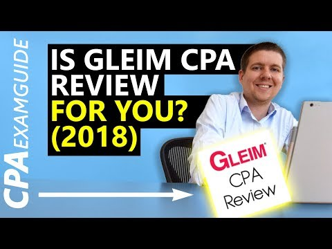 UNBOXING: Gleim CPA Review 2018 [Full Review] + DISCOUNT (видео)